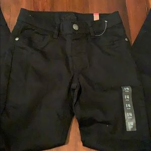 NWT Justice black Simply Low Jegging